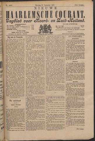 Nieuwe Haarlemsche Courant 1901-09-21
