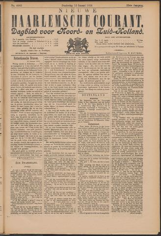 Nieuwe Haarlemsche Courant 1899-01-12