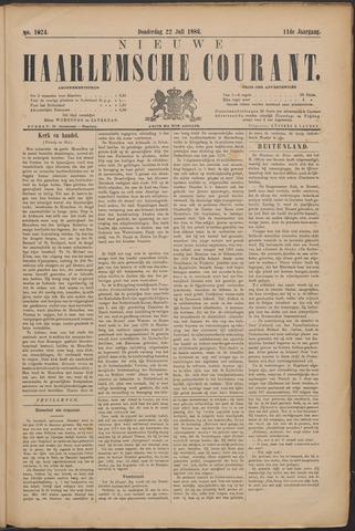 Nieuwe Haarlemsche Courant 1886-07-22