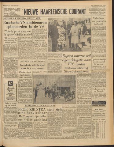 Nieuwe Haarlemsche Courant 1962-09-17