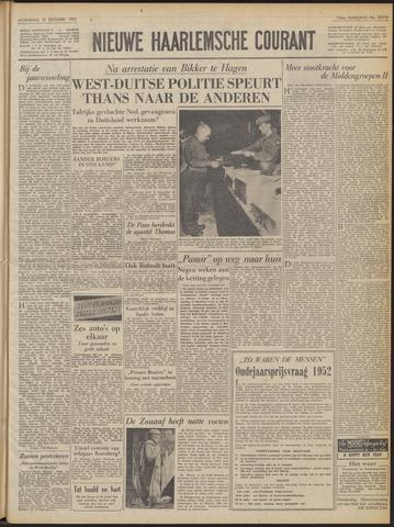 Nieuwe Haarlemsche Courant 1952-12-31