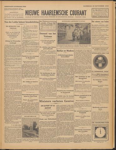 Nieuwe Haarlemsche Courant 1933-09-30
