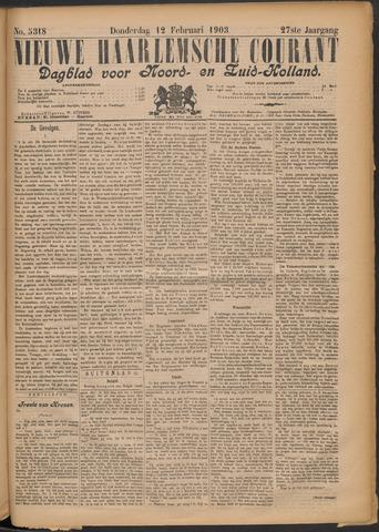 Nieuwe Haarlemsche Courant 1903-02-12