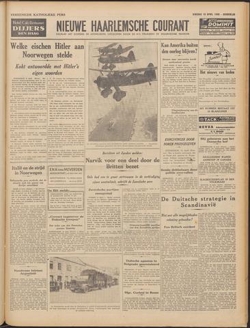 Nieuwe Haarlemsche Courant 1940-04-16