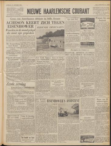 Nieuwe Haarlemsche Courant 1952-09-27