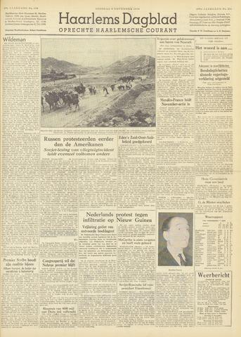 Haarlem's Dagblad 1954-11-09