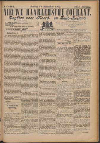 Nieuwe Haarlemsche Courant 1905-11-28