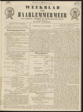 Weekblad van Haarlemmermeer 1866-01-19