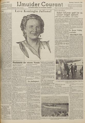 IJmuider Courant 1948-09-04