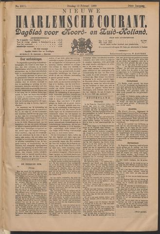 Nieuwe Haarlemsche Courant 1900-02-13