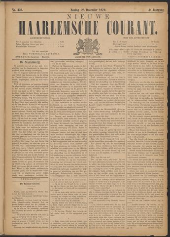 Nieuwe Haarlemsche Courant 1879-12-28