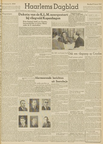 Haarlem's Dagblad 1947-01-27