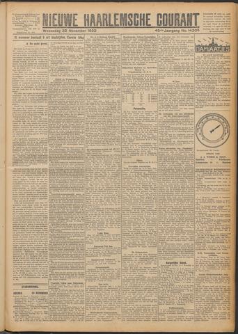 Nieuwe Haarlemsche Courant 1922-11-22