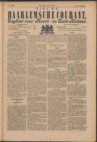 Nieuwe Haarlemsche Courant 1899-07-19