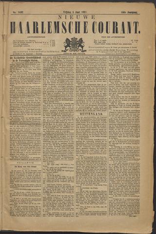 Nieuwe Haarlemsche Courant 1891-06-05