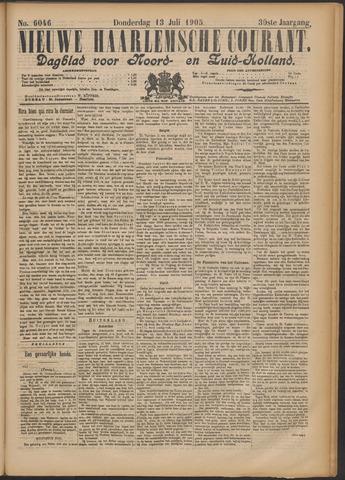 Nieuwe Haarlemsche Courant 1905-07-13