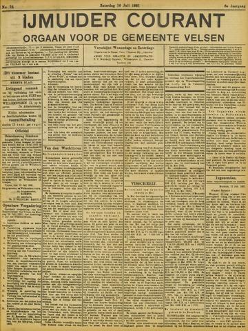 IJmuider Courant 1921-07-16