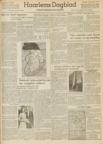 Haarlem's Dagblad 1950-09-18