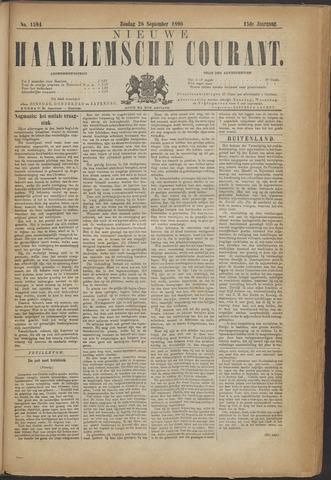 Nieuwe Haarlemsche Courant 1890-09-28