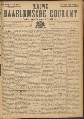 Nieuwe Haarlemsche Courant 1907-04-06