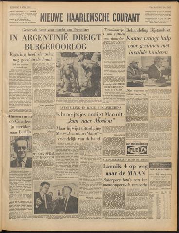 Nieuwe Haarlemsche Courant 1963-04-03