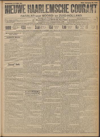 Nieuwe Haarlemsche Courant 1911-02-15