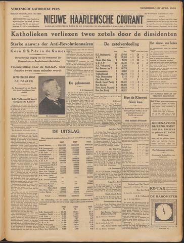 Nieuwe Haarlemsche Courant 1933-04-27
