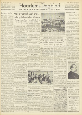 Haarlem's Dagblad 1951-06-26