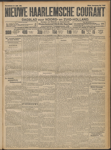 Nieuwe Haarlemsche Courant 1911-01-16