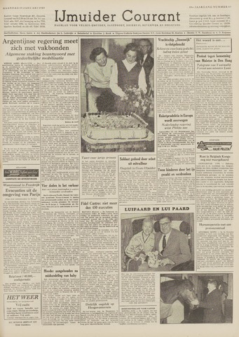 IJmuider Courant 1959-01-19