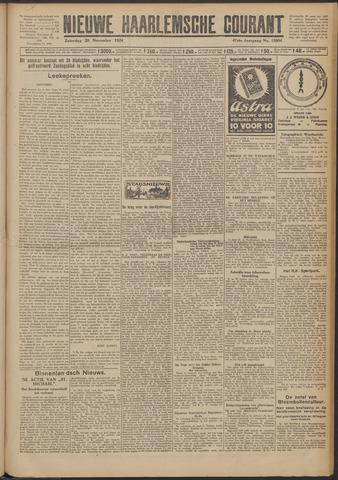 Nieuwe Haarlemsche Courant 1924-11-29