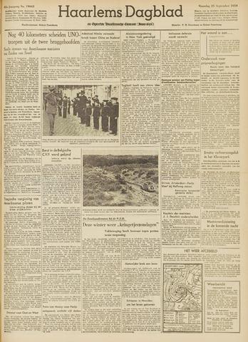 Haarlem's Dagblad 1950-09-25