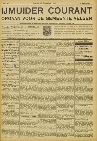 IJmuider Courant 1916-09-23