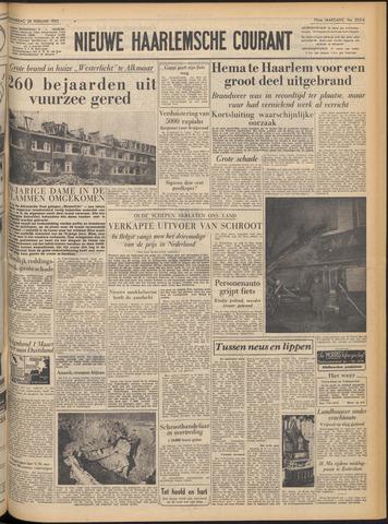 Nieuwe Haarlemsche Courant 1952-02-28