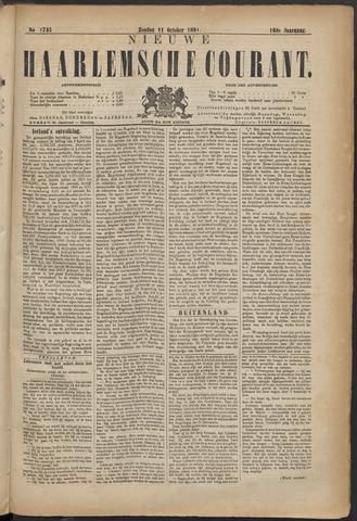 Nieuwe Haarlemsche Courant 1891-10-11