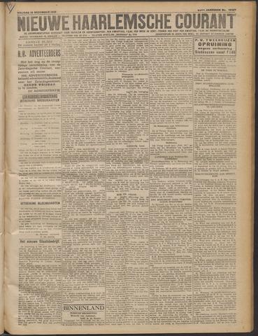 Nieuwe Haarlemsche Courant 1919-12-12