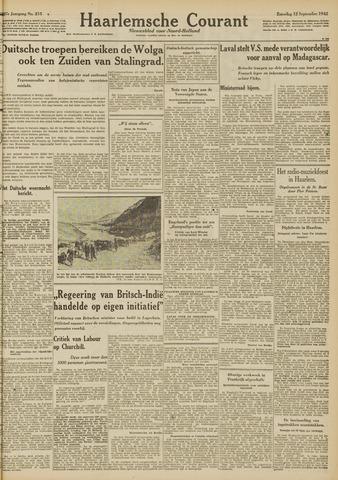 Haarlemsche Courant 1942-09-12