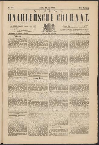 Nieuwe Haarlemsche Courant 1886-06-13