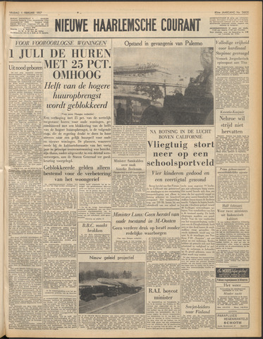 Nieuwe Haarlemsche Courant 1957-02-01