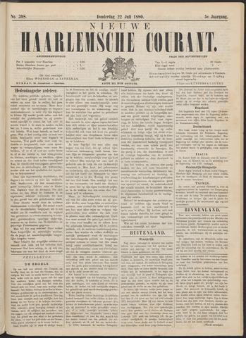 Nieuwe Haarlemsche Courant 1880-07-22