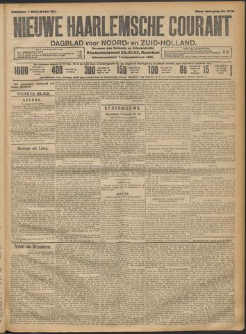 Nieuwe Haarlemsche Courant 1911-11-07