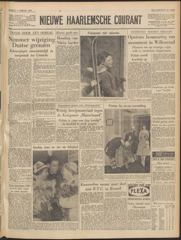 Nieuwe Haarlemsche Courant 1960-02-09