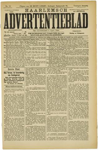 Haarlemsch Advertentieblad 1898-04-09