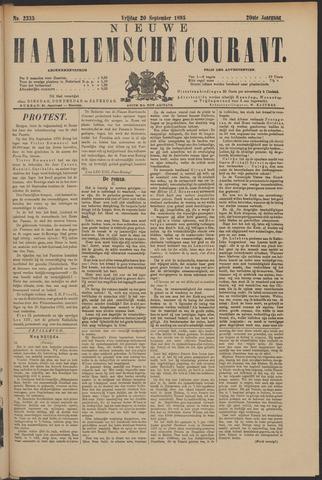 Nieuwe Haarlemsche Courant 1895-09-20
