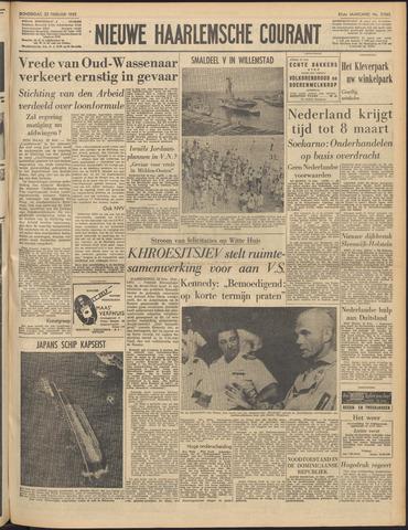 Nieuwe Haarlemsche Courant 1962-02-22