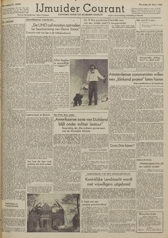 IJmuider Courant 1948-03-24