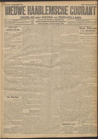 Nieuwe Haarlemsche Courant 1914-11-13