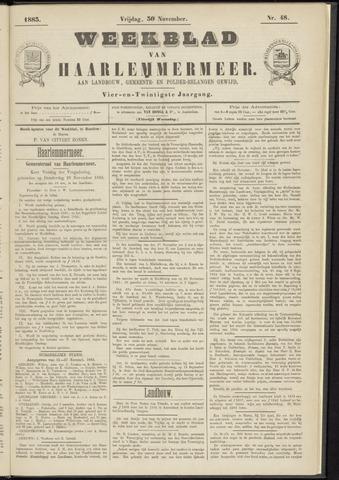 Weekblad van Haarlemmermeer 1883-11-30