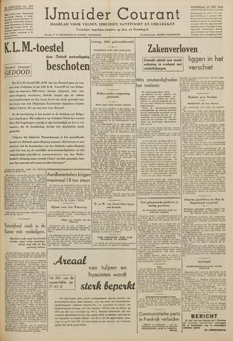 IJmuider Courant 1939-09-27