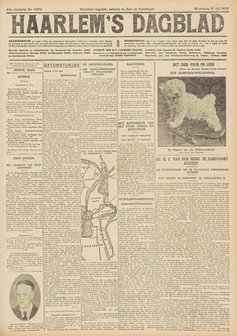 Haarlem's Dagblad 1926-07-21